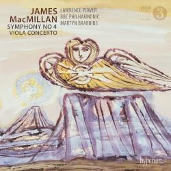 Symphony no. 4 / Viola Concerto by James MacMillan ;   Lawrence Power ,   BBC Philharmonic ,   Martyn Brabbins